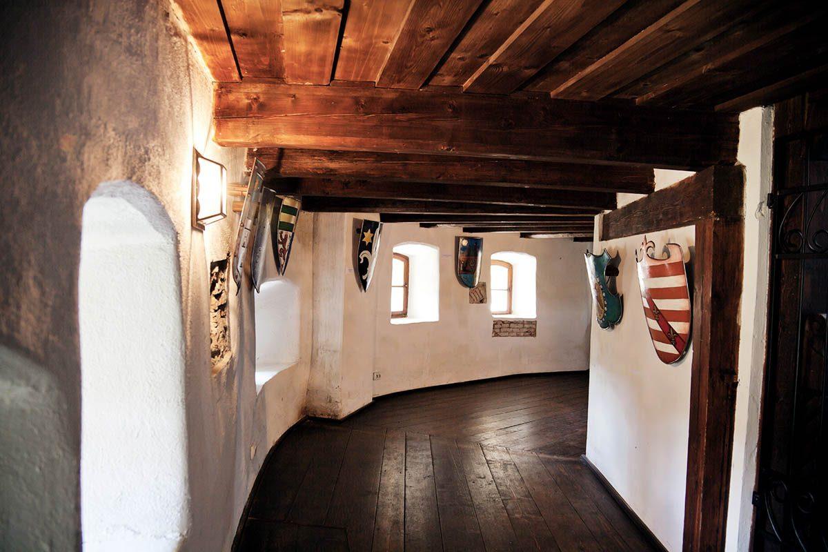 Schloss Bran von Innen