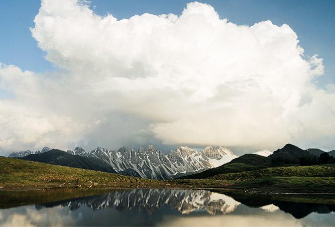 Salfeinser See, Österreich