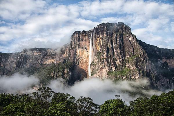 Wasserfall Salto Angel, Südamerika