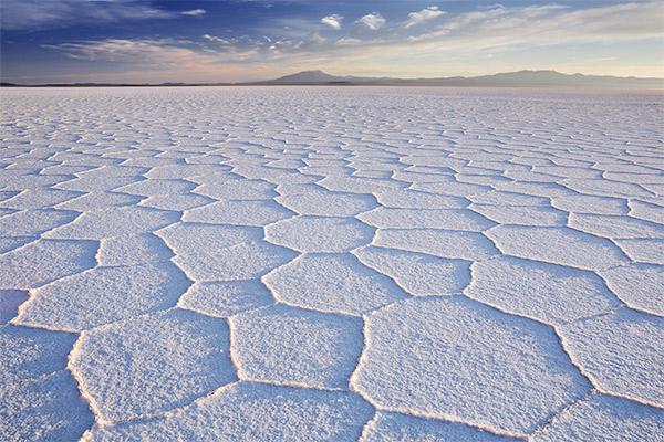 Salzwüste Salar de Uyuni, Suedamerika