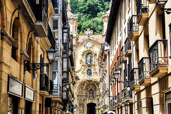San Sebastián, Nordspanien