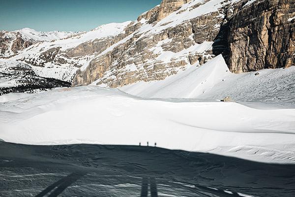 Schatten, Monte Castello Dolomiten