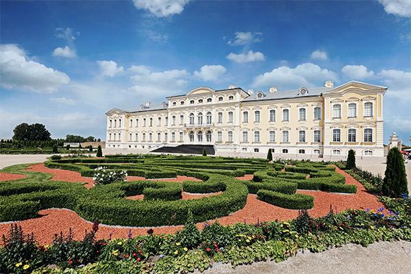 Schloss Rundale, Lettland