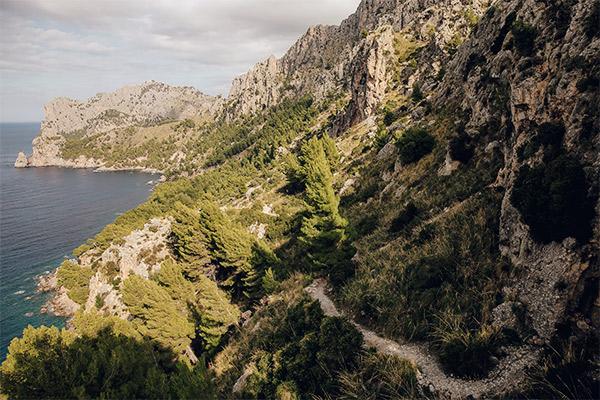 Schmugglerpfad entlang der Küste, Mallorca