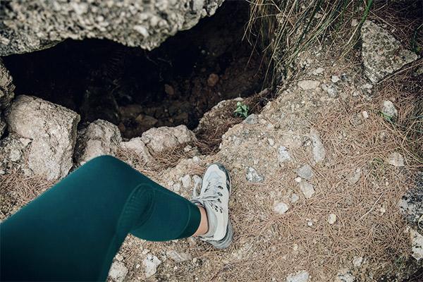 Höhle in einer Schmugglerbucht, Mallorca