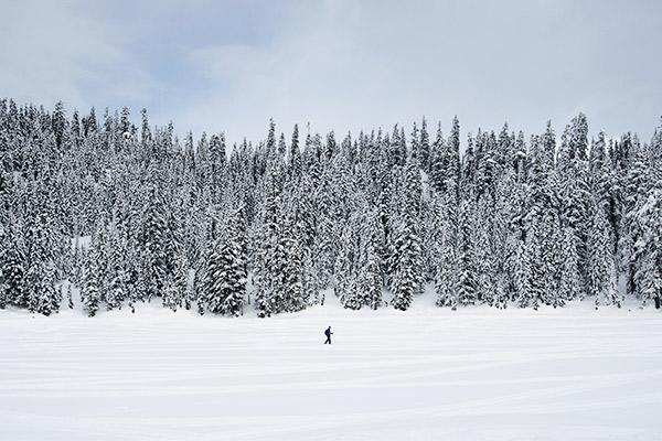 Schneeschuhwandern im Karwendel