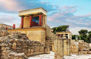 Sehenswürdigkeit Griechenland, Knossos Palast, Kreta.