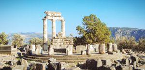 Sehenswürdigkeit Griechenland, antike Ruinen Olympia.