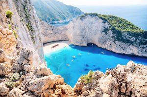 Sehenswürdigkeit Griechenland, Navagio Strand