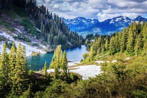 Aussicht im Glacier Nationalpark. © Shutterstock