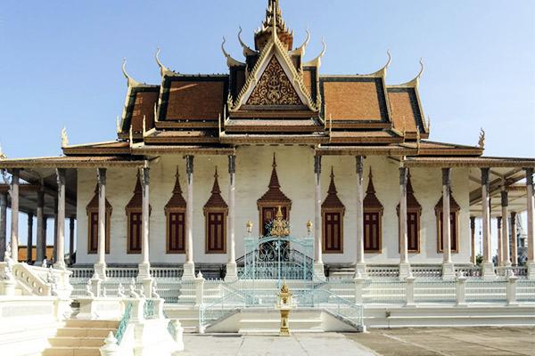 Silberpagode Phnom Penh, Vietnam