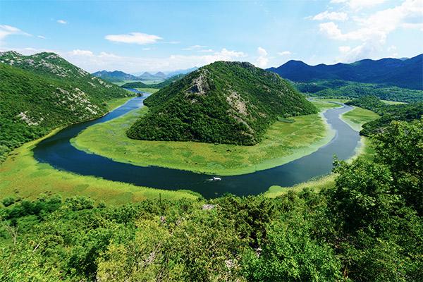 Skutarisee, Montenegro