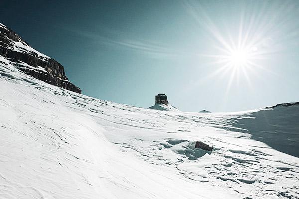 Wanderung zum Monte Castello, Dolomiten