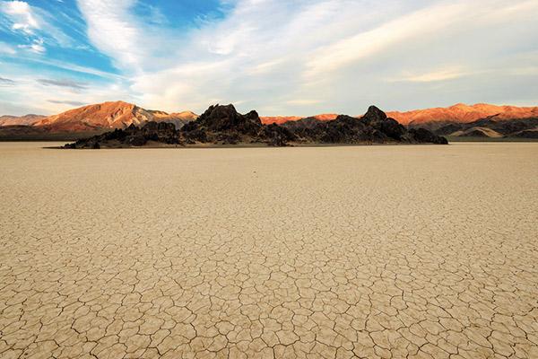 Sonnenuntergang Death Valley, USA