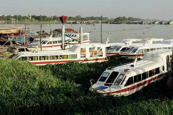 peedboot Phnom Penh, Vietnam