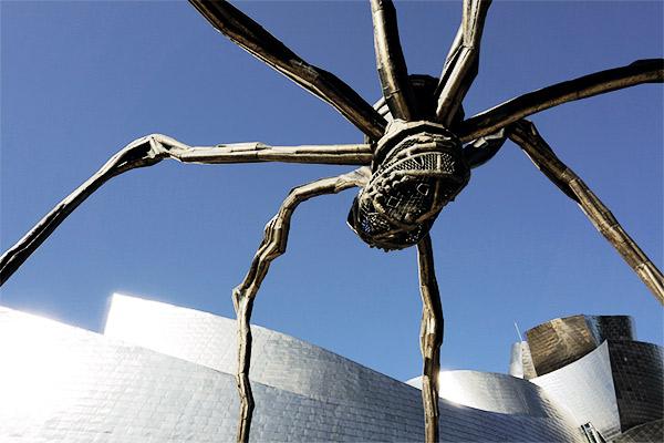 Spinne vor Guggenheim Museum, Bilbao Spanien