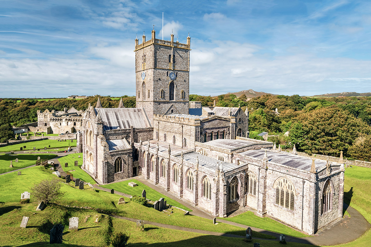 Kathedrale in St. Davids
