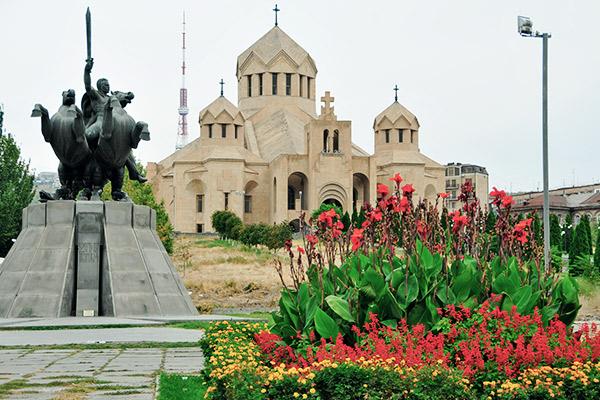 St. Gregor Kirche in Jerewan, Armenien