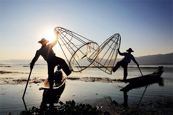 Stelzenfischer, Inle Lake Myanmar