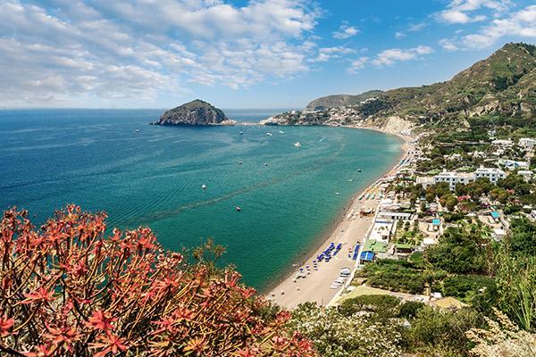 Strand von Maronti, Ischia