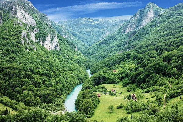 Tara Schlucht, Montenegro