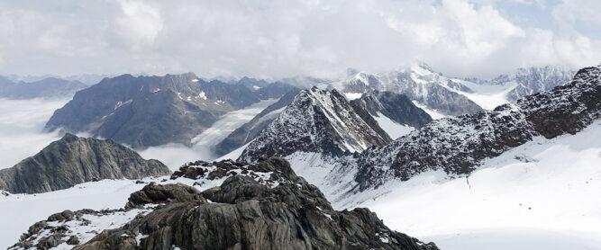 Überblick Gletscherwelt Ötztal