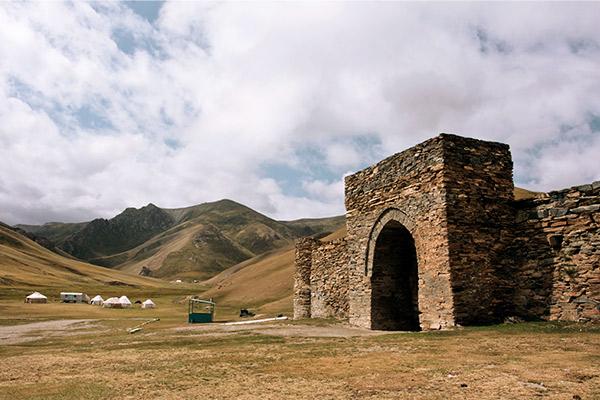 Tasch-Rabat Karawanserei, Kirgistan