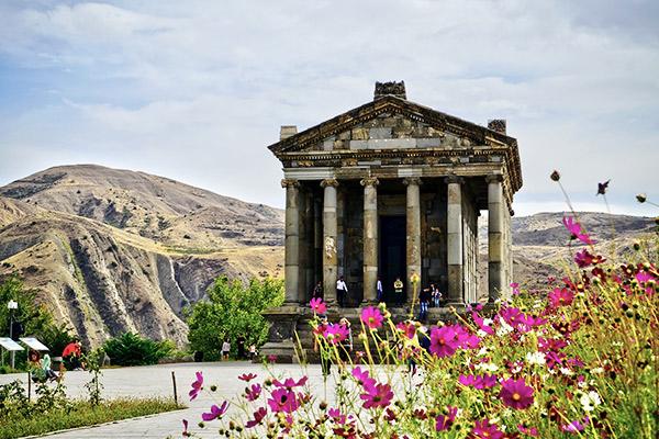 Tempel von Garni, Armenien