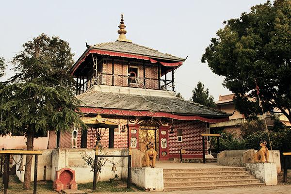Tempel in Tansen, Nepal