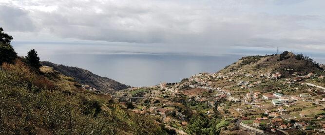 Blick Insel und Meer, Madeira