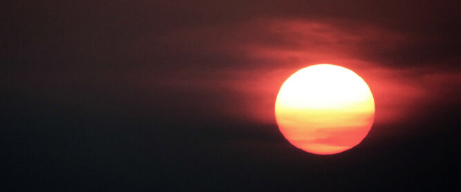 Sonnenuntergang, Nepal