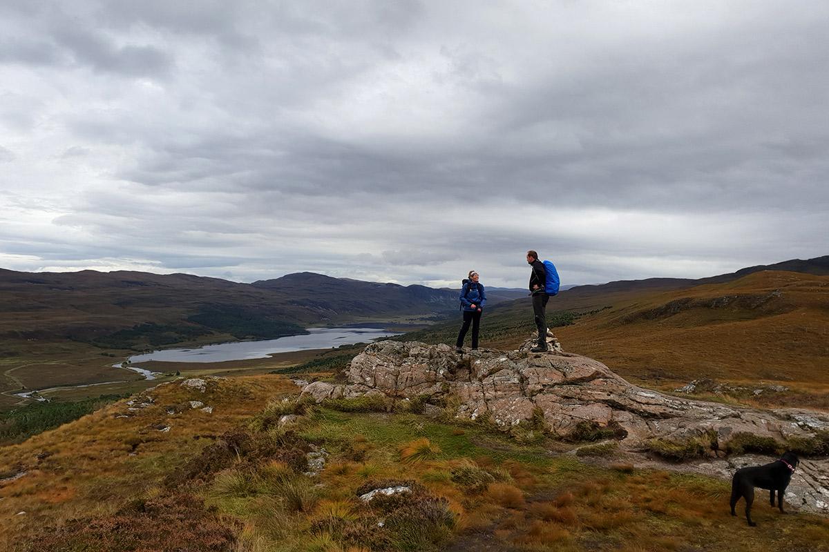 Ullapoolhill mit Blick auf Loch Broom