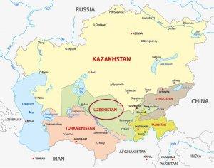 Usbekistan Karte.8 Dinge Die Ihr über Usbekistan Wissen Solltet Blog Asi Reisen
