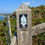 Zeichen des Pembrokeshire Coast Path