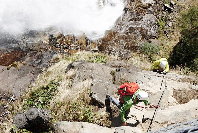 Klettersteigset Paket : Klettersteigset testsieger a sicherheit am fels
