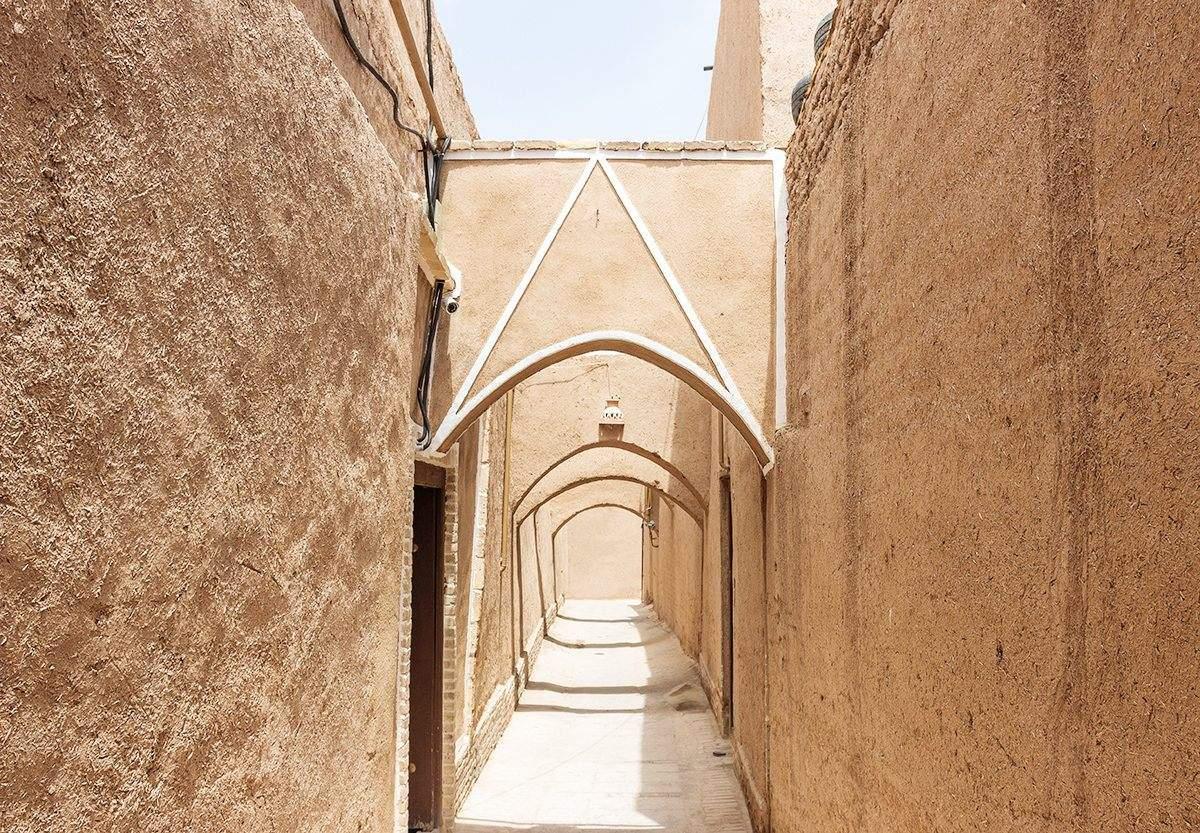 Gasse in Yazd Altstadt