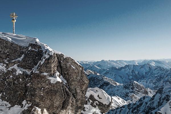 Gipfelkreuz der Zugspitze, Deutschland